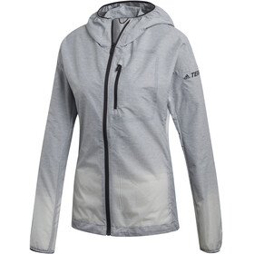 adidas TERREX Agravic Windweave Jacket Women, grey three/white